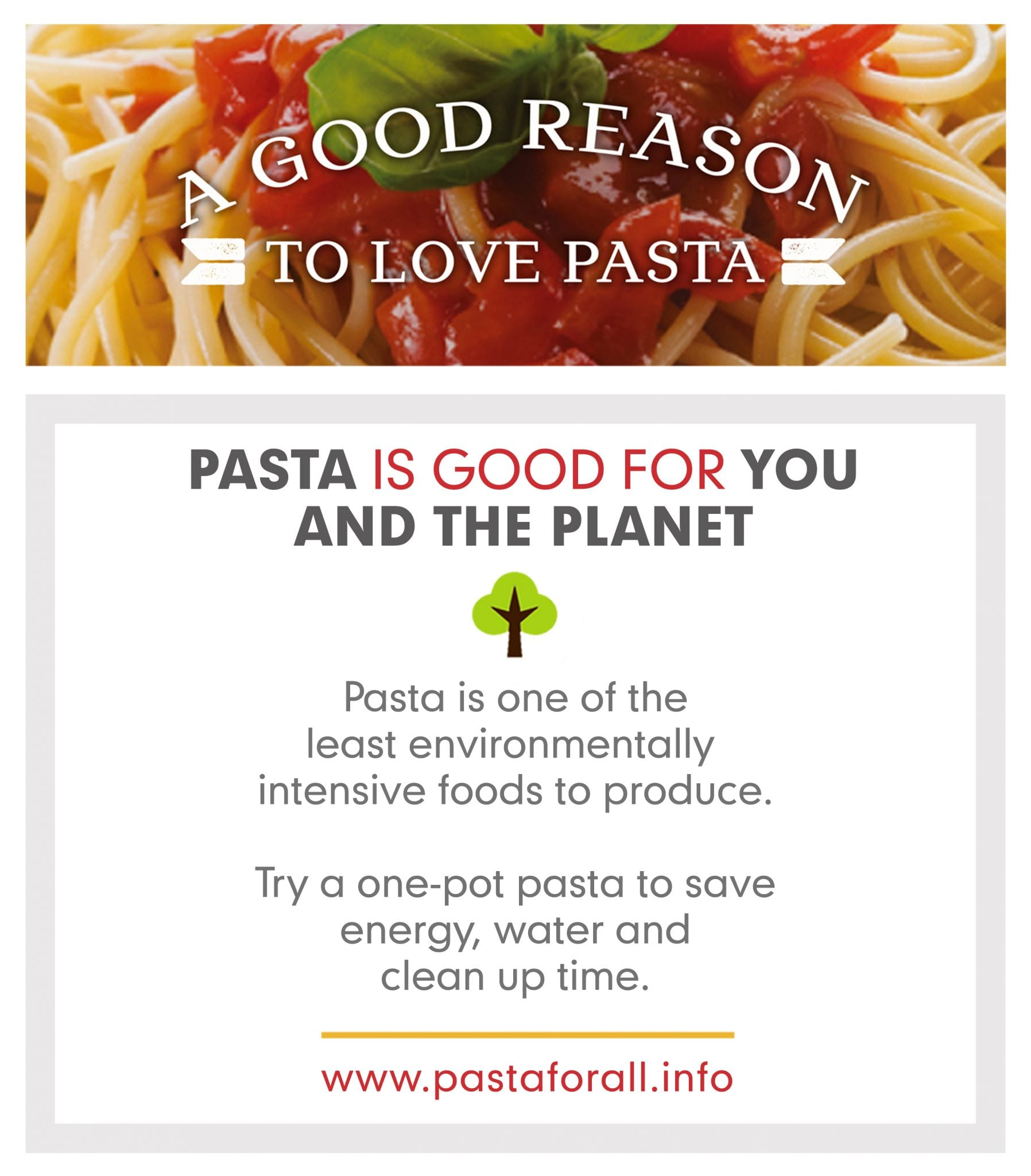 Pasta Is Good For You And Good For The Planet