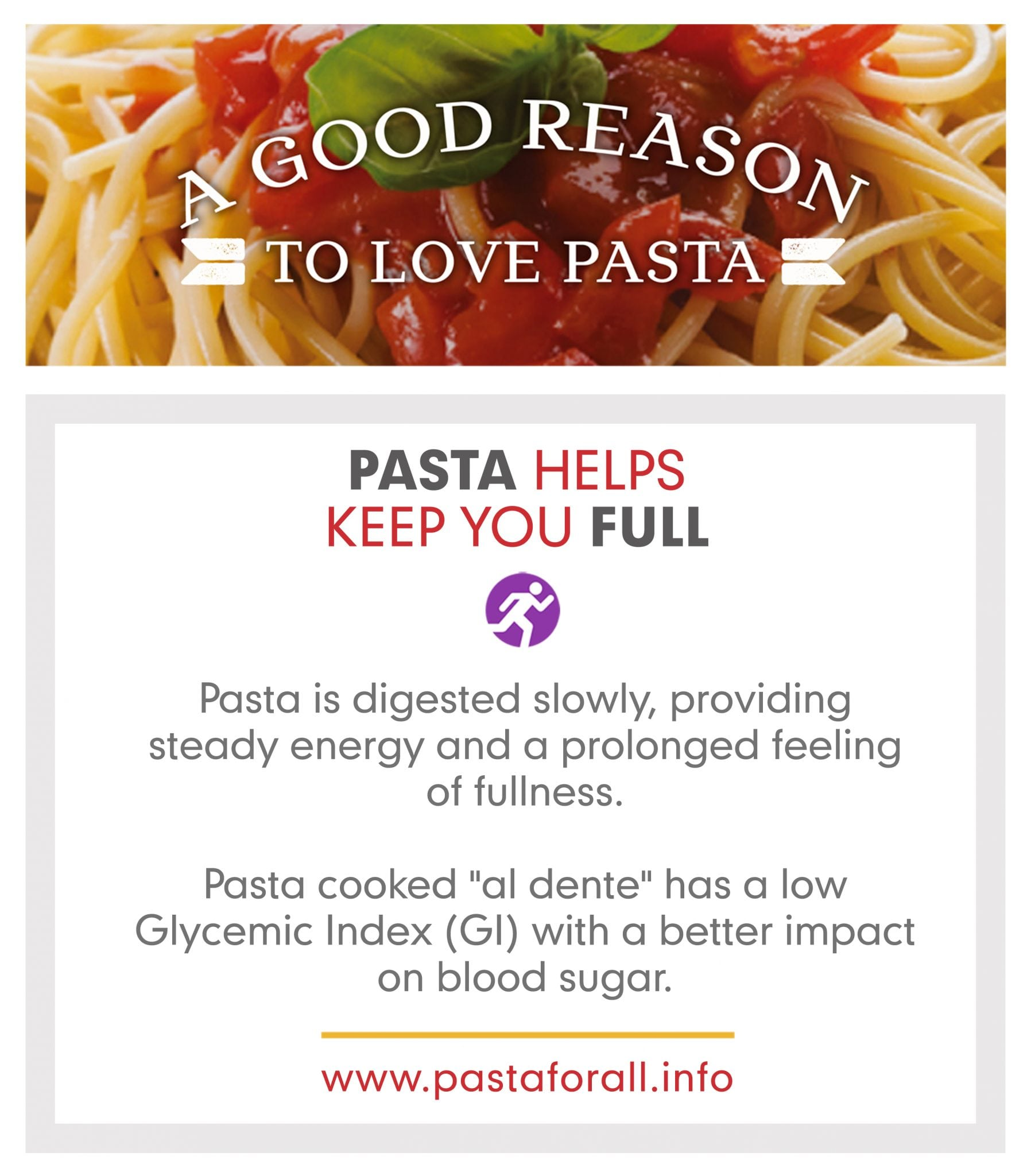 Pasta Helps Keep You Full