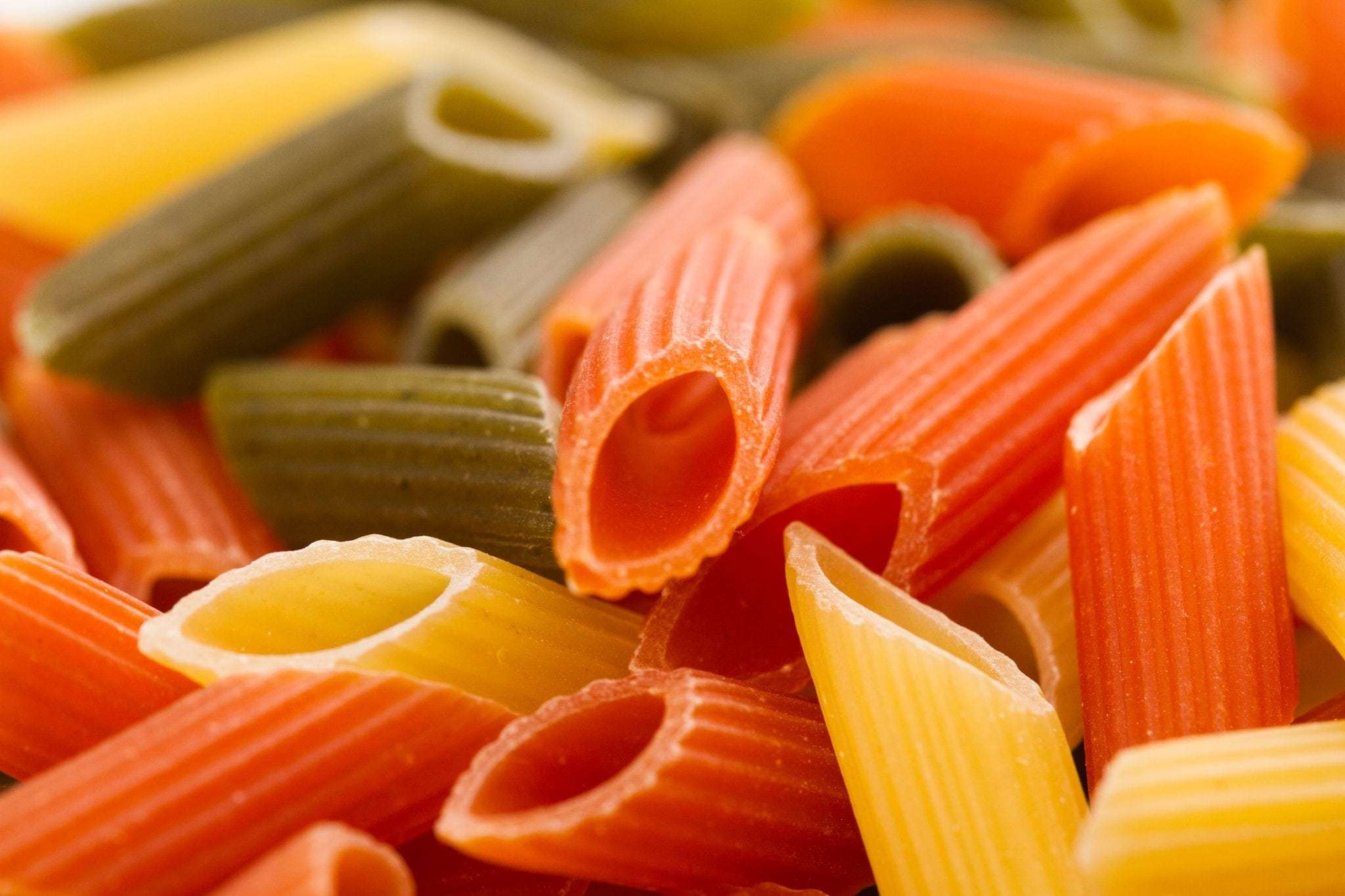Tri-color Penne Alla Vodka