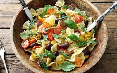 PASTA DOES NOT MAKE YOU FAT AND MAY EVEN HELP YOU LOOSE WEIGHT.