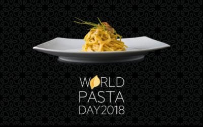 SAVE THE DATE FOR THE 20TH ANNUAL WORLD PASTA DAY (DUBAI, 25 OCTOBER 2018)