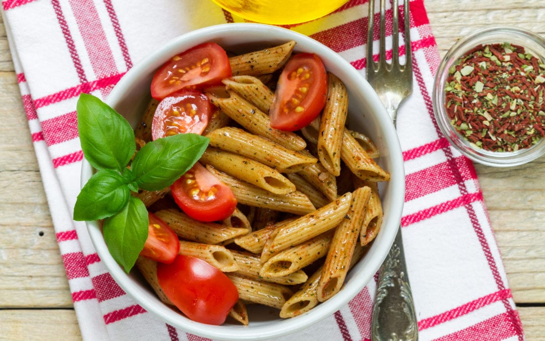 3 good and healthy recipes with whole grain pasta